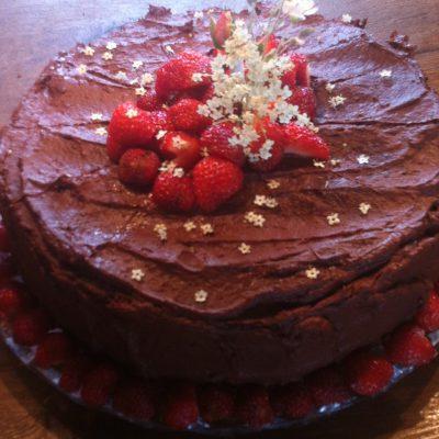 Schokolade-Himbeer
