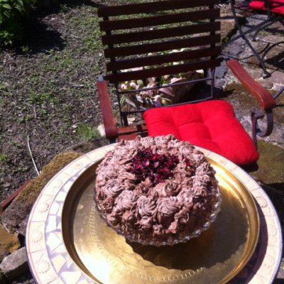 Schokolade-Himbeer als Muttertagstorte