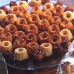 Mini-cupcakes noch unvollendet