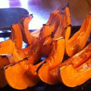...diese sind gebacken und werden: zu pumpkin pie...