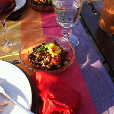 Mittags-Tisch am Mittwoch