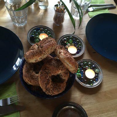 ofenwarme Simit - und Tischschmuck